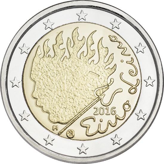 SUOMI: 2€ Juhlaraha Eino Leino - Manikauppaa verkossa 24/7