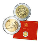 2 Euro Commemorative Vatican 2015 Philadelphia is original packed by folder