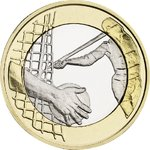 FINLAND: 5€ 2016 Sports Coins – Athletics