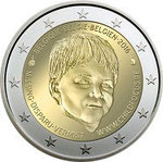 BELGIA: 2€ Juhlaraha Belgia 2016 Child Focus