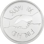 FINLAND: 10 Euro Commemorative Independent Finland 100 years Proof