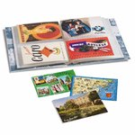 Plastic Pockets for banknotes, postcards and coins - select size