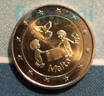 "MALTA: 2 € 2017 Peace ""From Children in Solidarity"""