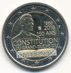 LUXEMBOURG: 2 € 2018 Constitution 150v.