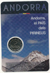 ANDORRA: 2 € 2017.1 BU Country of the Pyrenees