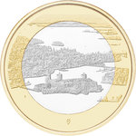 FINLAND: 5 € Finnish National Landscapes (choose topic and quality)