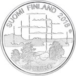 FINLAND: Finnish sauna culture coin calculator Proof CHOOSE value