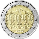 LITHUANIA: 2 € 2018 Singing and dancing at UNC