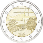 FINLAND: 2 € Finnish sauna culture coin - select UNC Roll or Proof