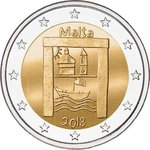 MALTA: 2 € 2018 Cultural Heritage Sites - Select UNC or coincard