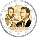 LUXEMBOURG: 2 € 150 years on the death of Guillaume I