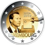 LUXEMBOURG: € 2 2019 Universal voting rights in UNC