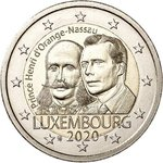 LUXEMBOURG: € 2,00 Prince Henry UNC